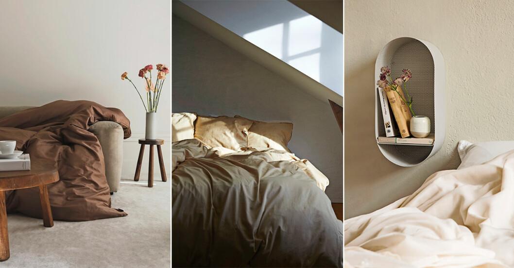 snyggt inrett sovrum - utvalda inredningsdetaljer och möbler