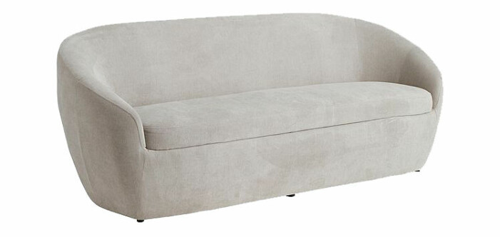 beige soffa mjuka former