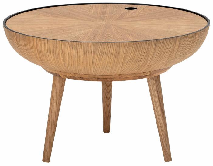soffbord med förvaring trä