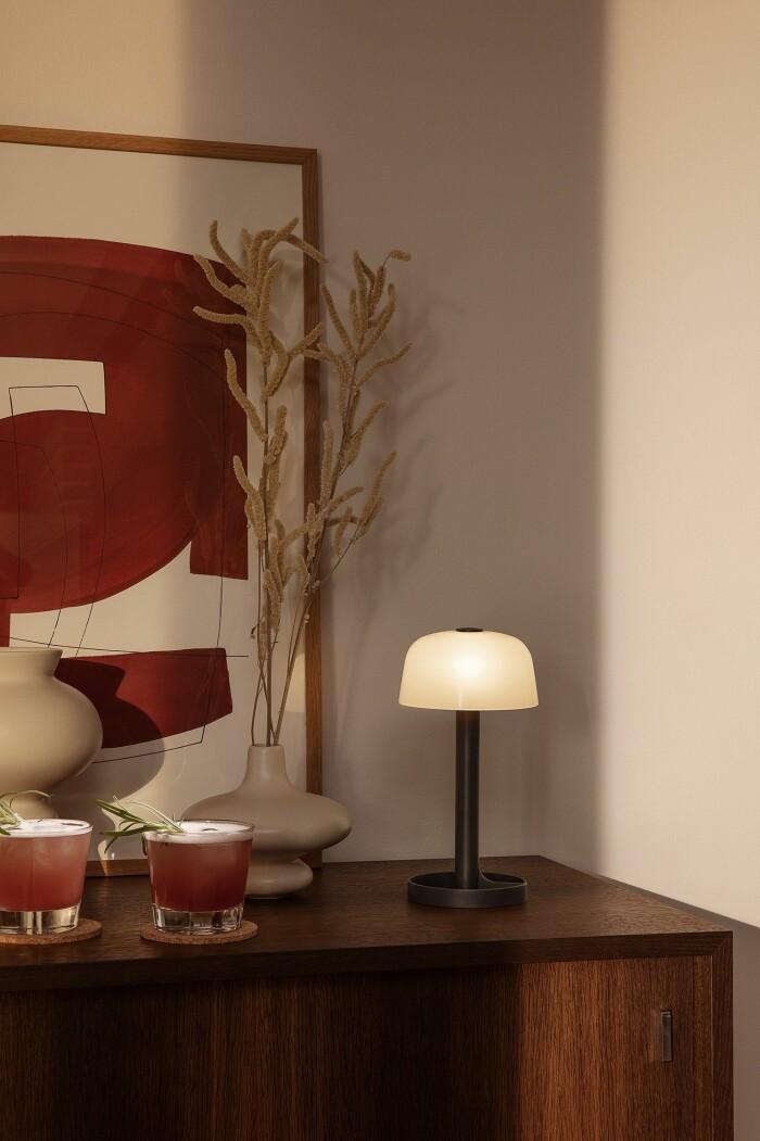 soft spot bordslampa från Rosendahl
