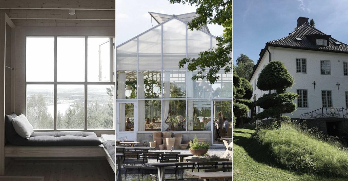 Residence stora Sverigeguide med platser att besöka i Sverige i sommar