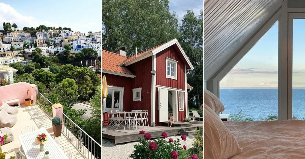 Svenska kändisars sommarhus