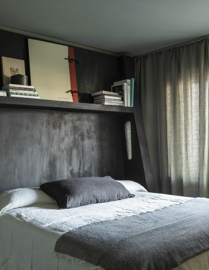 Sovrum hemma hos Lucas Morten och Tyra-Stina Wilhelmsson