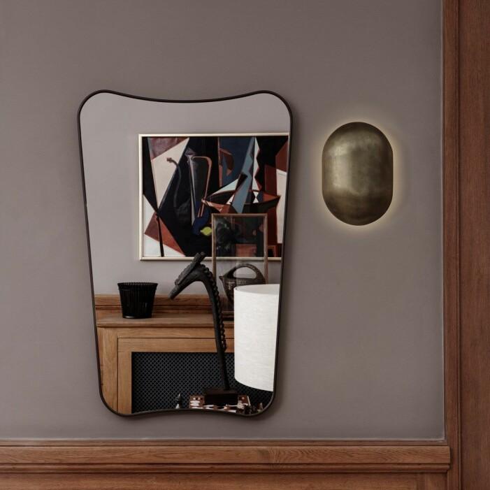 Stor spegel rectangulaire gubi