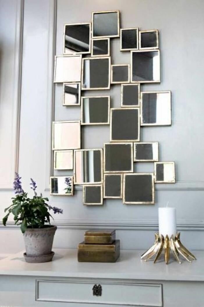 Stor spegel från Oscar & Clothilde