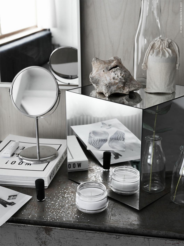 DIY spegelkub ikea hack