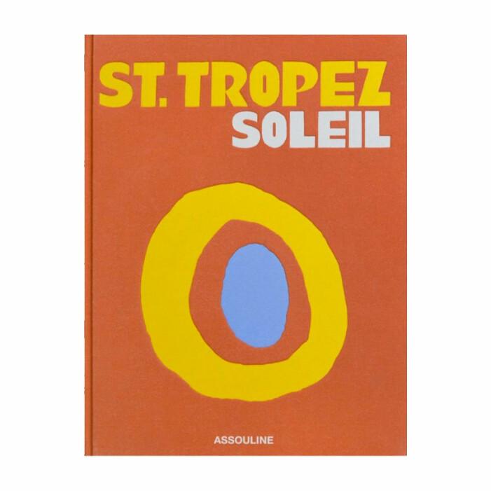 coffee table book St tropez soleil från Assouline