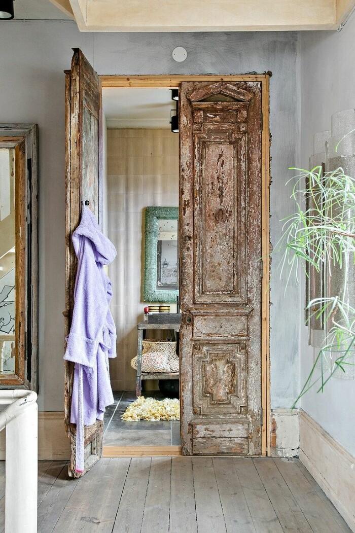 stilfullt badrum i sekelskifteshem