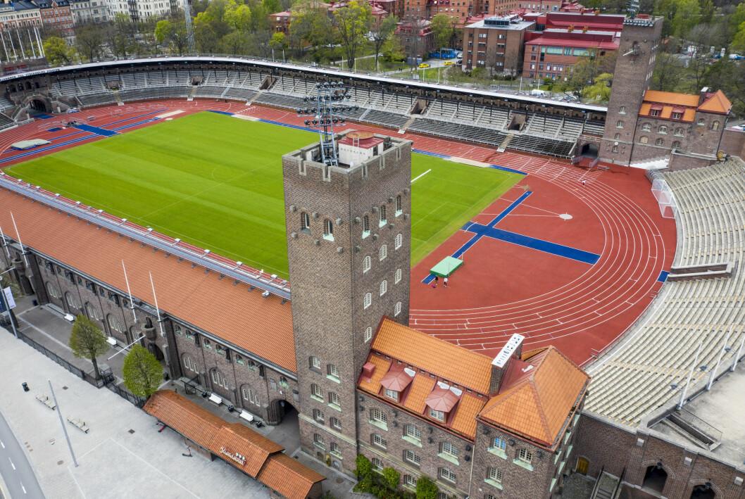 Stockholms stadion, OS Stockholm 1912