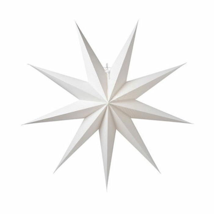 Stor vit adventsstjärna, Watt & Veke