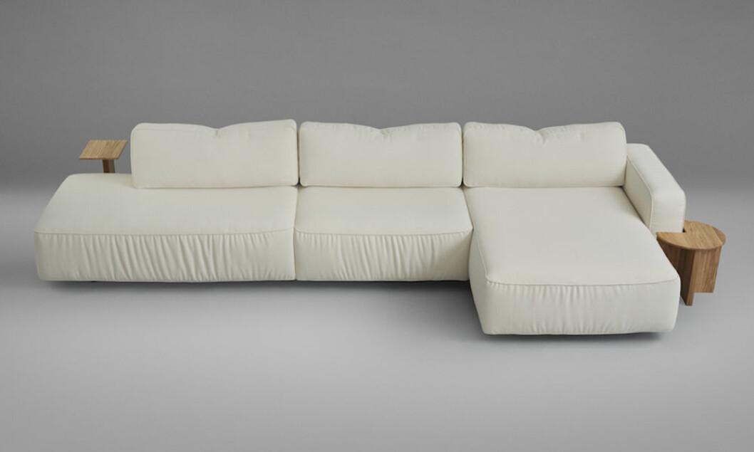 Supersoft soffa från Fogia