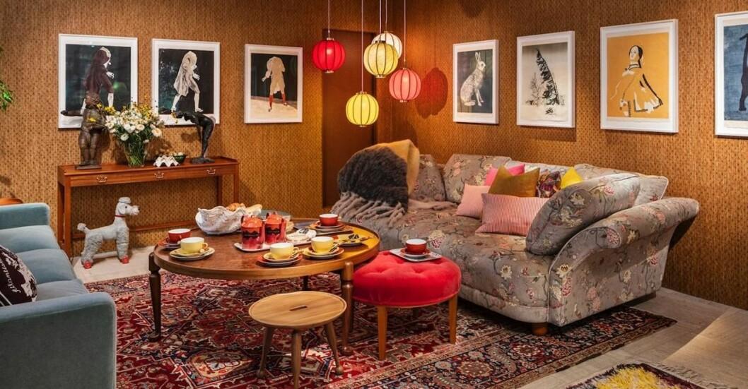 Karin Mamma Andersson macht die Interior Design Kollektion für Svenskt Tenn.