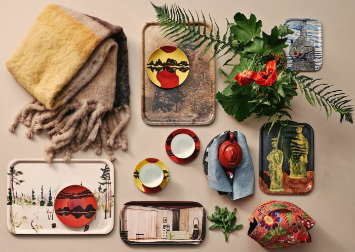 Karin Mamma Andersson macht eine Interieurkollektion für die gesamte Kollektion von Svenskt tenn