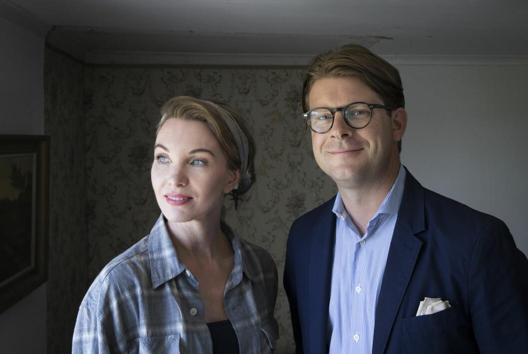 Erika Åberg und Rickard Thunér.