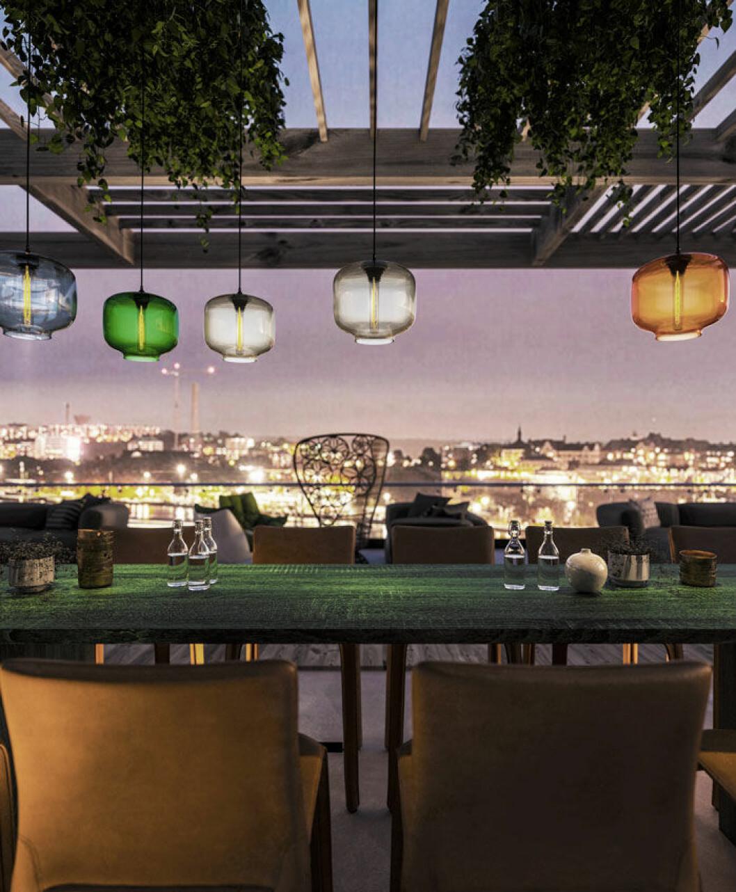Ett designteam med Gert Wingårdh i spetsen skapar Taks inredning som ska matcha den spektakulära utsikten.