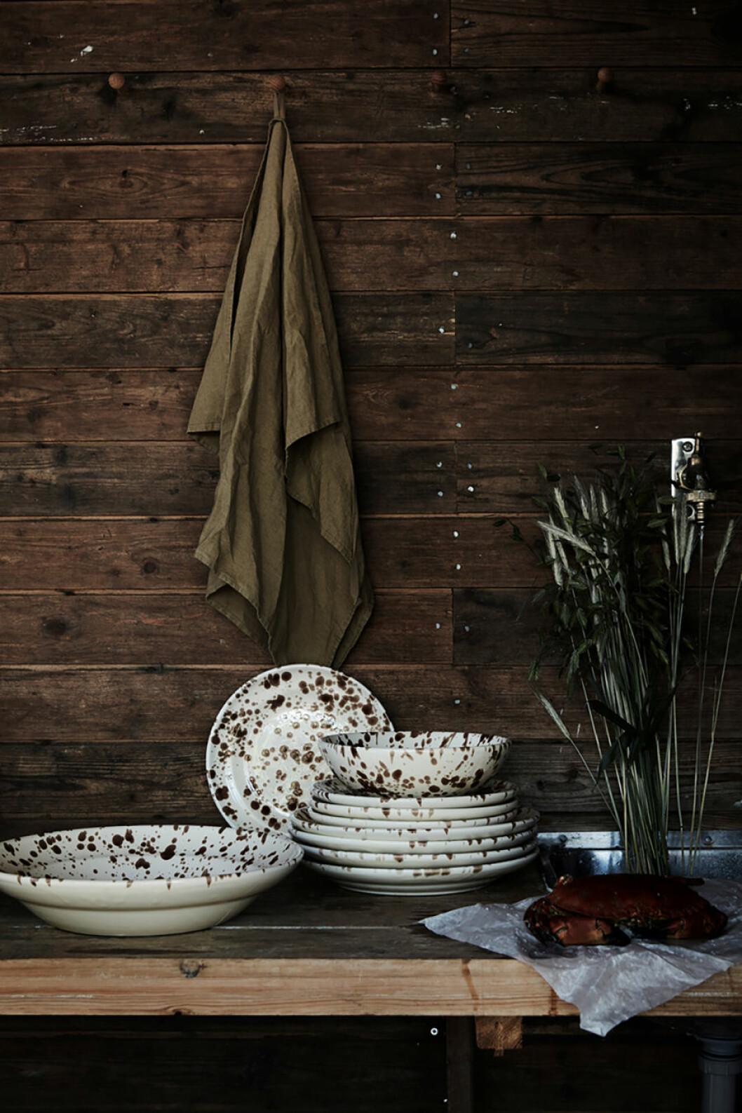 tallrikar handduk