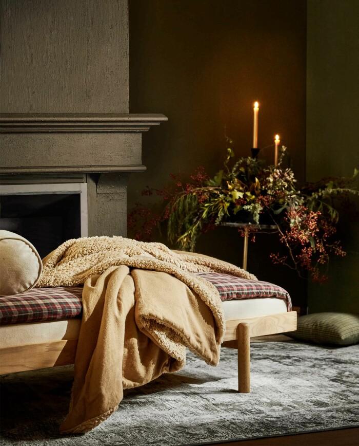 mysiga textilier till hemmet till jul