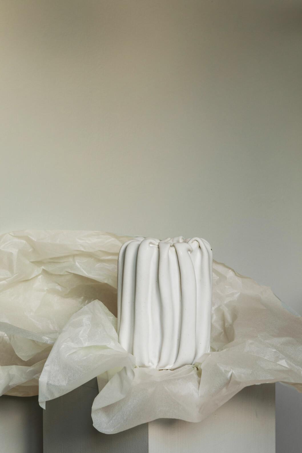 Drape Vase av Sofia Tufvasson, The Ode To