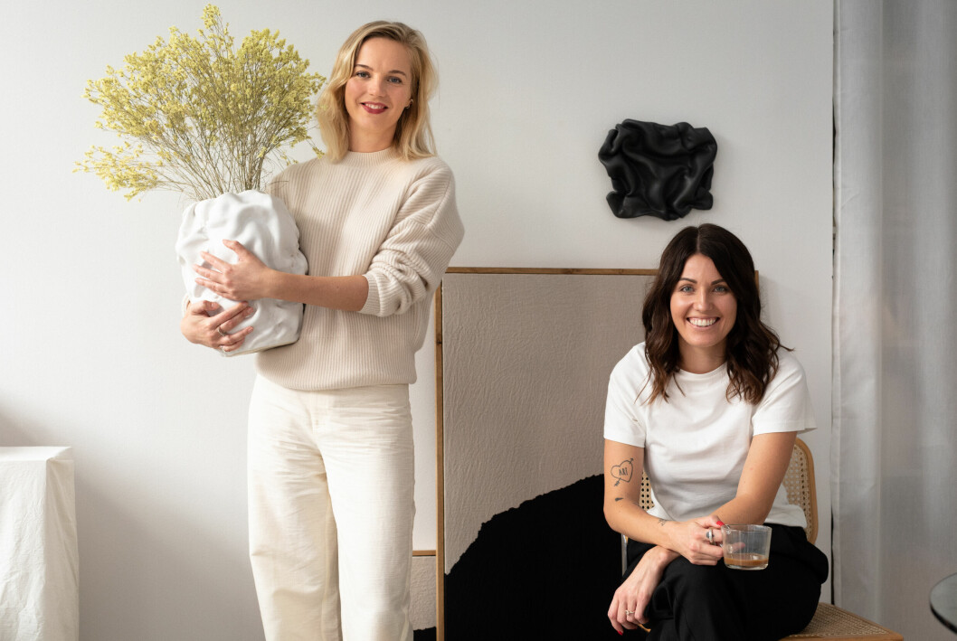Från vänster: Helena Carlberg och Anna Lukins.