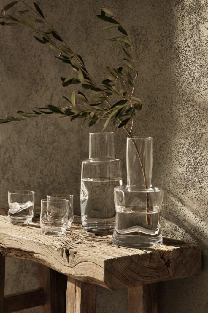 tillbringare i glas hm