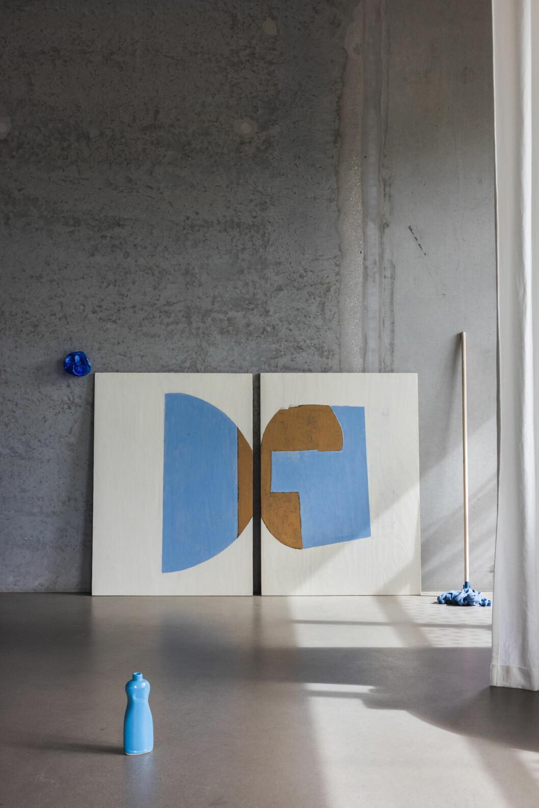 Soraya Forsberg Divers Art 180 x 125 cm..