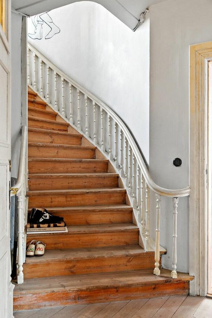 trappa i äldre stil