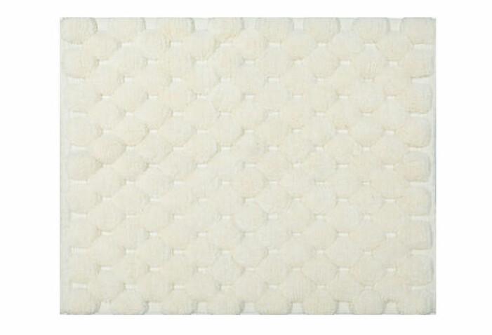 tuftad badrumsmatta med mönster
