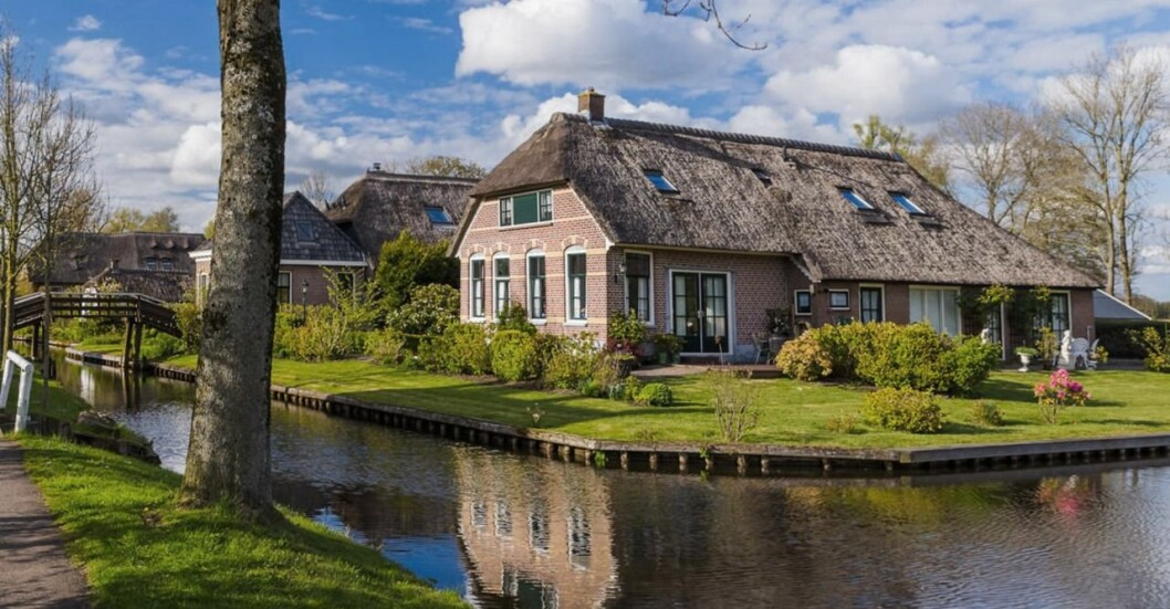 Upptäcksfärd med båt: Giethoorn, Nederländerna