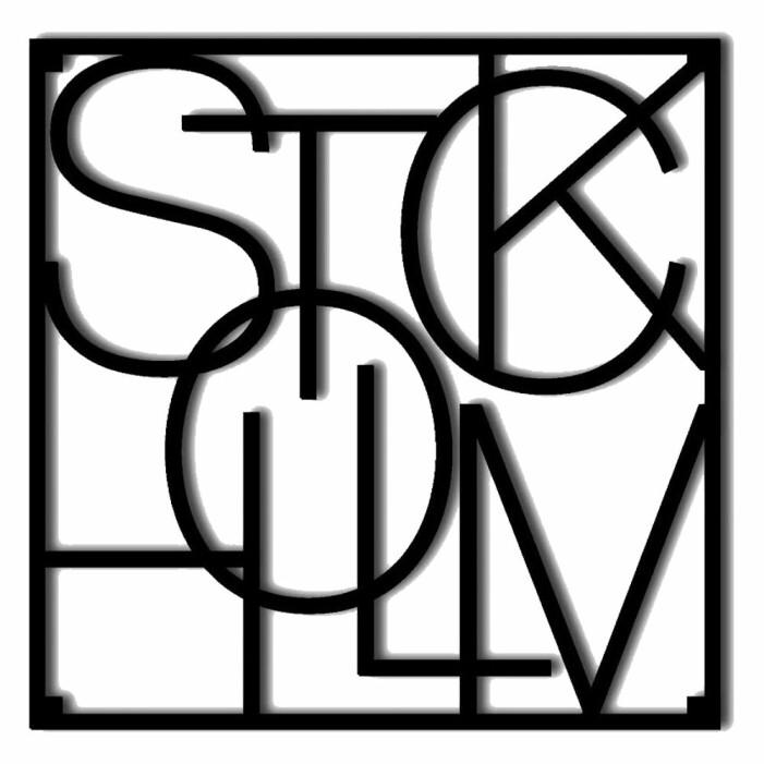 Grytunderlägg med stad - Stockholm