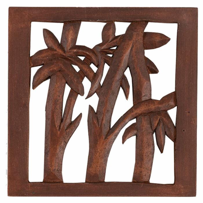 grytunderlägg med palmer från indiska