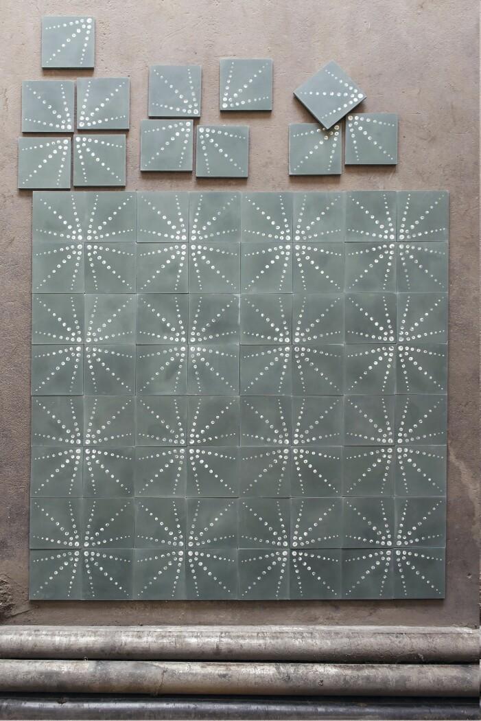 Betonggolvet Mareld för Marrakech design av Marie-Louise Hellgren.