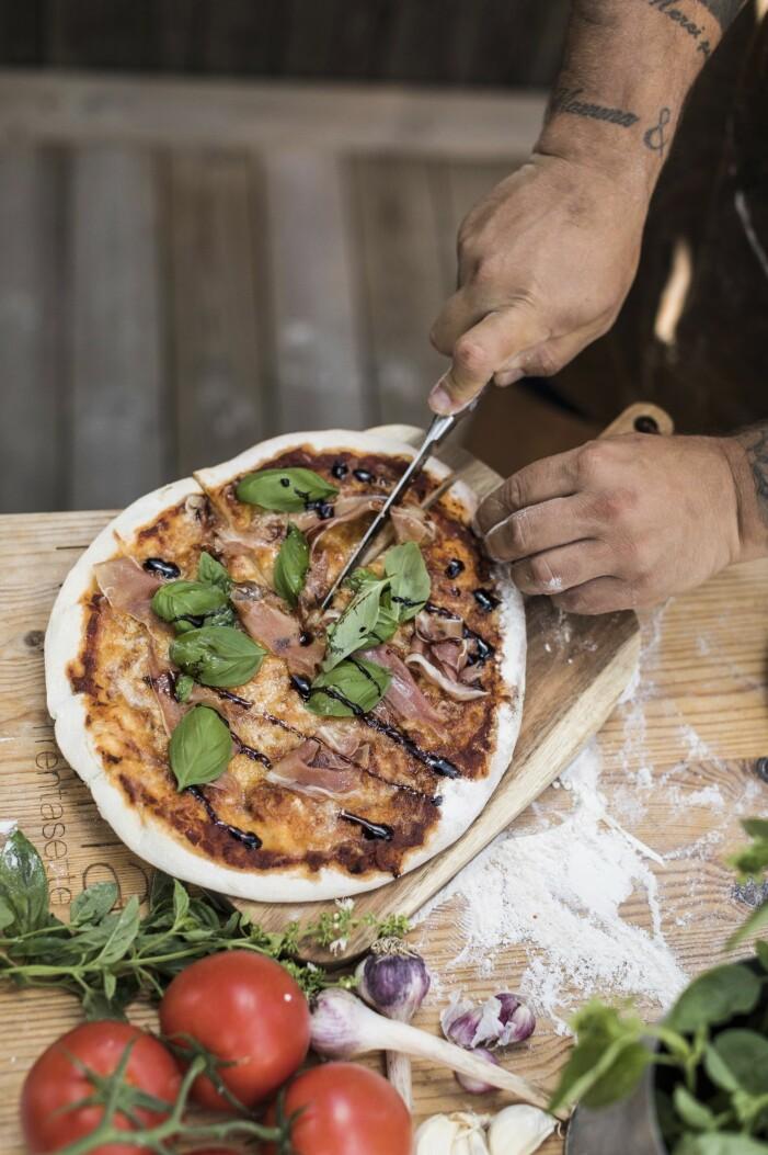 Recept på hemmagjord pizzadeg