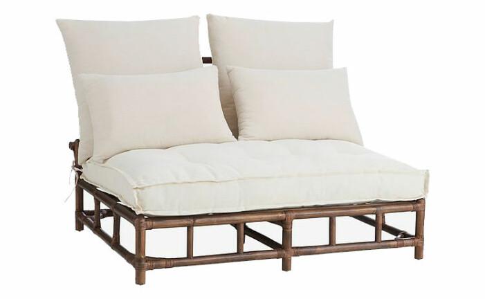 utemöbel soffa bambu