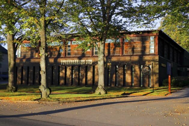 Utvandrarnas hus i Växjö.