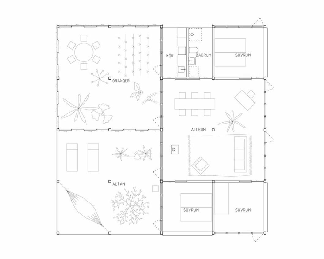 bruno hus ritning