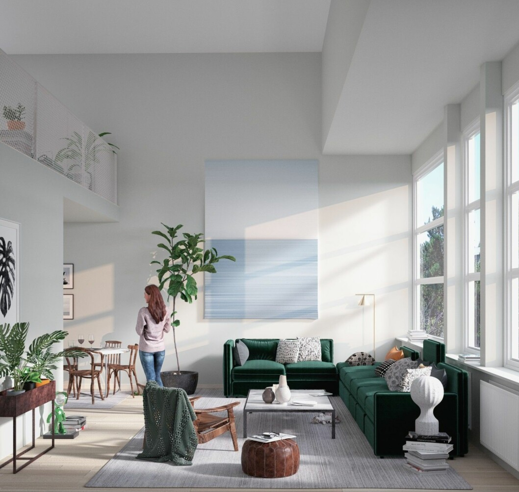 Vaktberget_Utsikten_loft_vardagsrum utan lampa