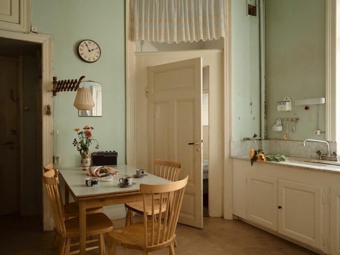 kök i orörd våning från 1914