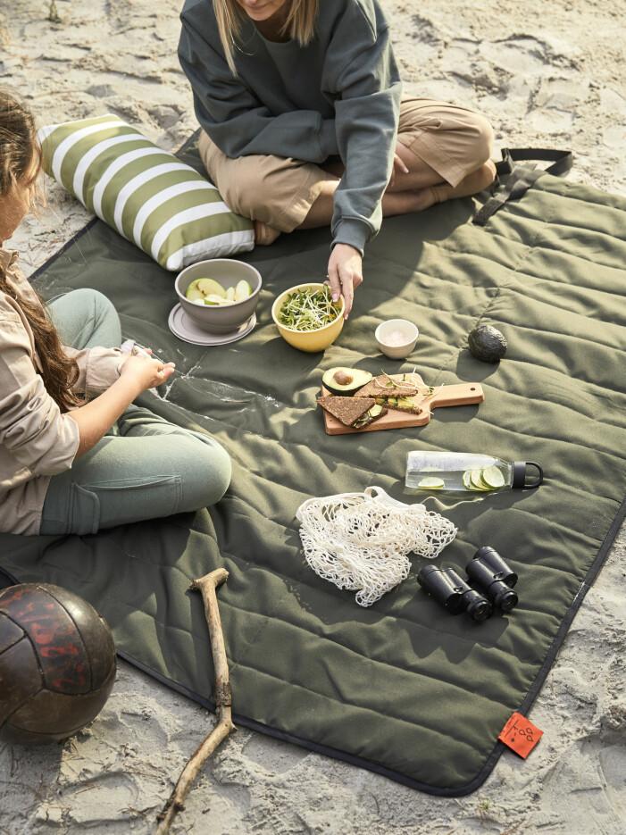 Vår- och sommarnyheter hos Ikea 2021, Fjällmott picknickfilt