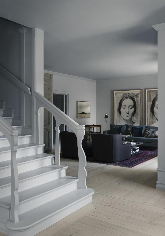 Vardagsrum hemma hos Ellen-K Willas