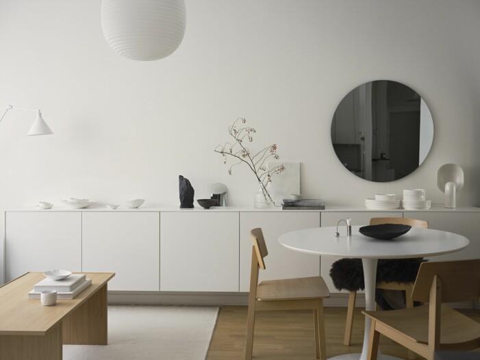 Vardagsrum hemma hos Simon Strömstedt