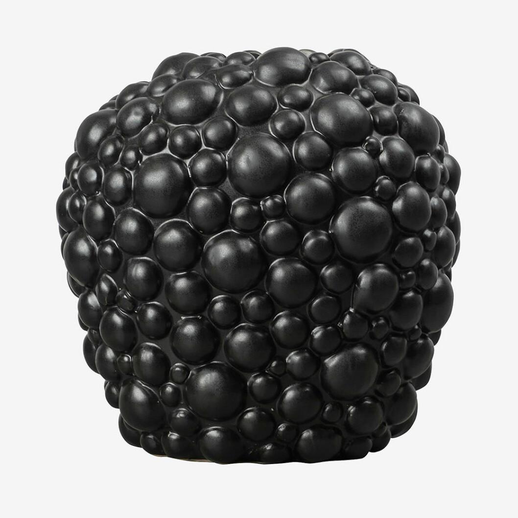 Bubblig vas i svart från ByOn