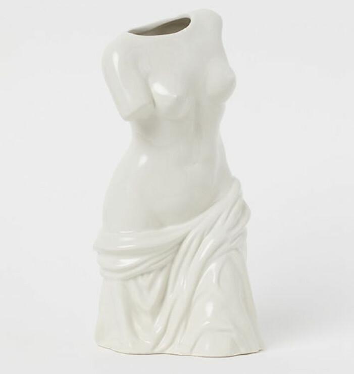 vas i form av staty från hm