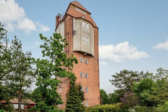 Vattentorn till salu på Lidingö Residence magazine