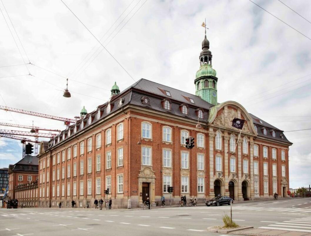 Köpenhamn hotell villa copenhagen fasad