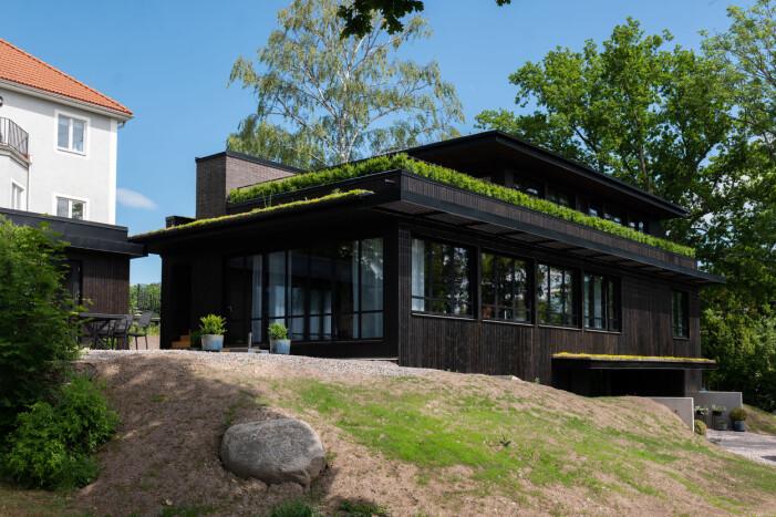 Arkitekturritad villa på Lidingö i Grand designs Sverige avsnitt fem