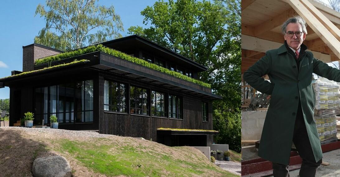 Villa J på Lidingö Mark Isitt Grand Designs
