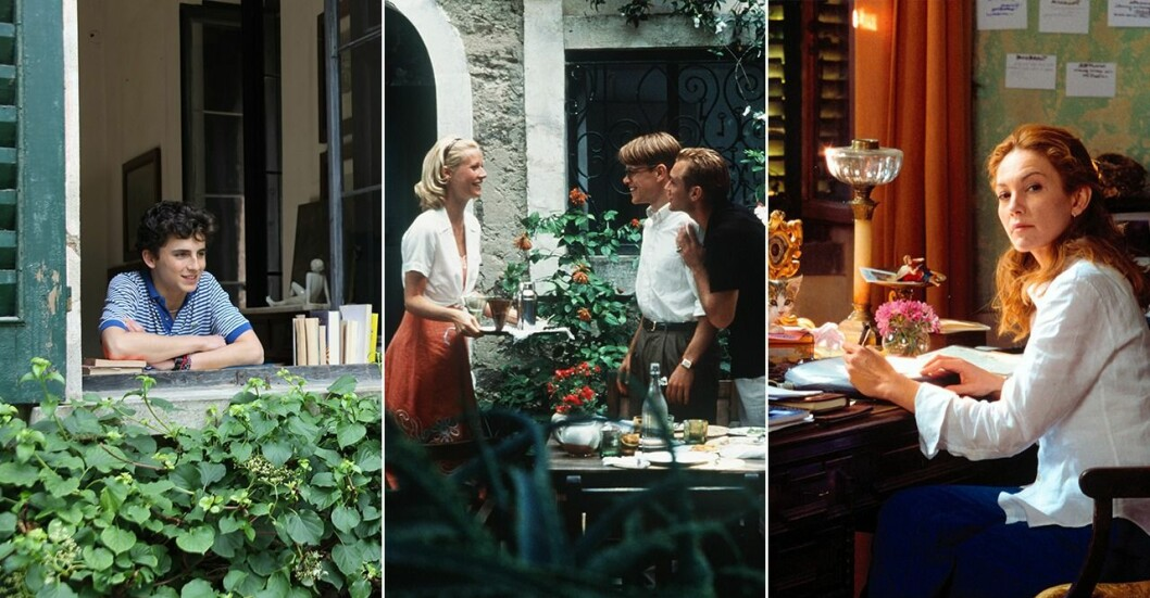 Call me by your name, The Talented Mr. Ripley, Under The Tuscan Sun