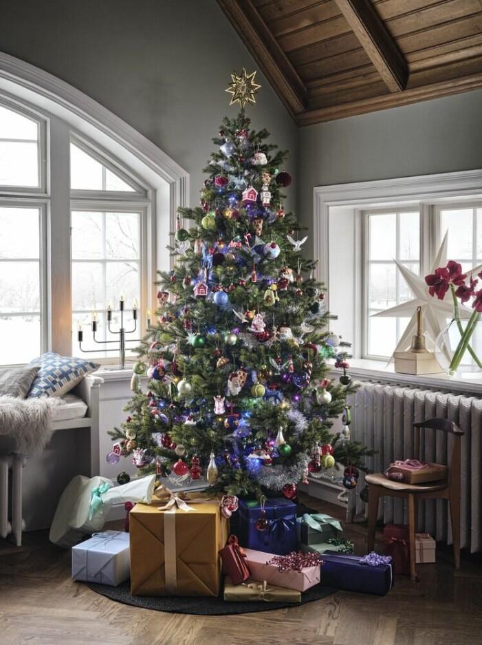 Julen på Åhléns 2021, julpynt
