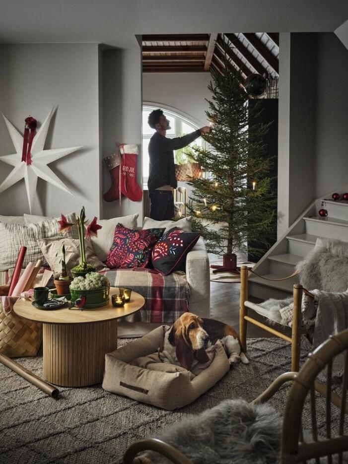 Julen på Åhléns 2021, textilier