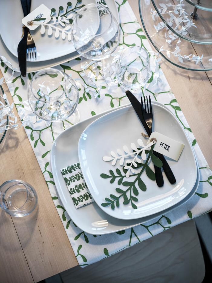 Julen på Ikea 2021, dukningstrender